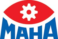 MAHA automotive lift logo